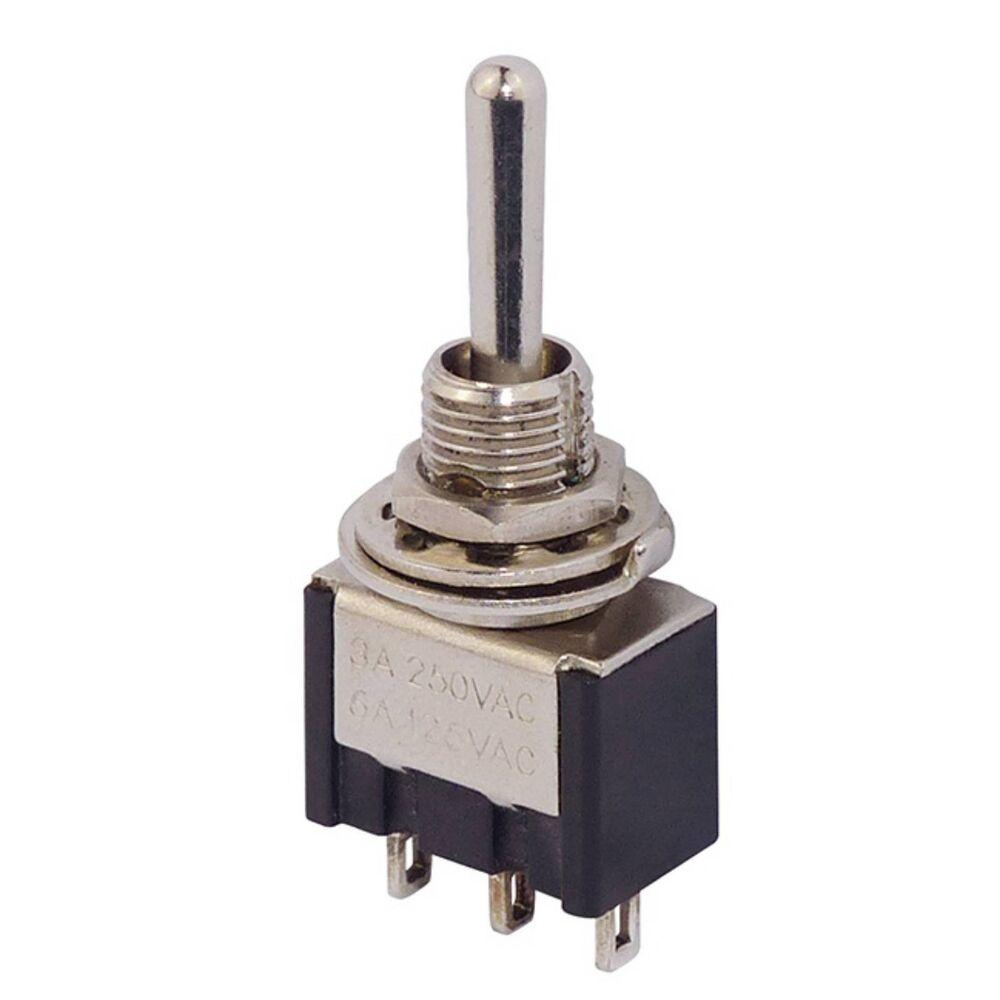 10 Mini Kippschalter Minikippschalter Miniatur Schalter