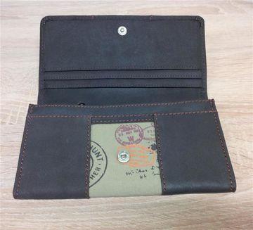 aab9492c096bc Portemonnaie CANVAS Geldbörse Geldtasche Brieftasche Kreditkarte ...
