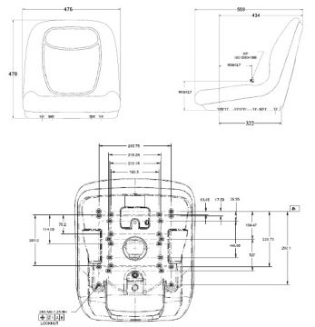 Seat Shell Riding Mower Fits John Deere 240 245 260 265 285 320 325. John Deere. John Deere 130l Lawn Tractor Parts Diagram At Scoala.co