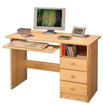 Schreibtisch Kiefer Natur Lackiert 2021