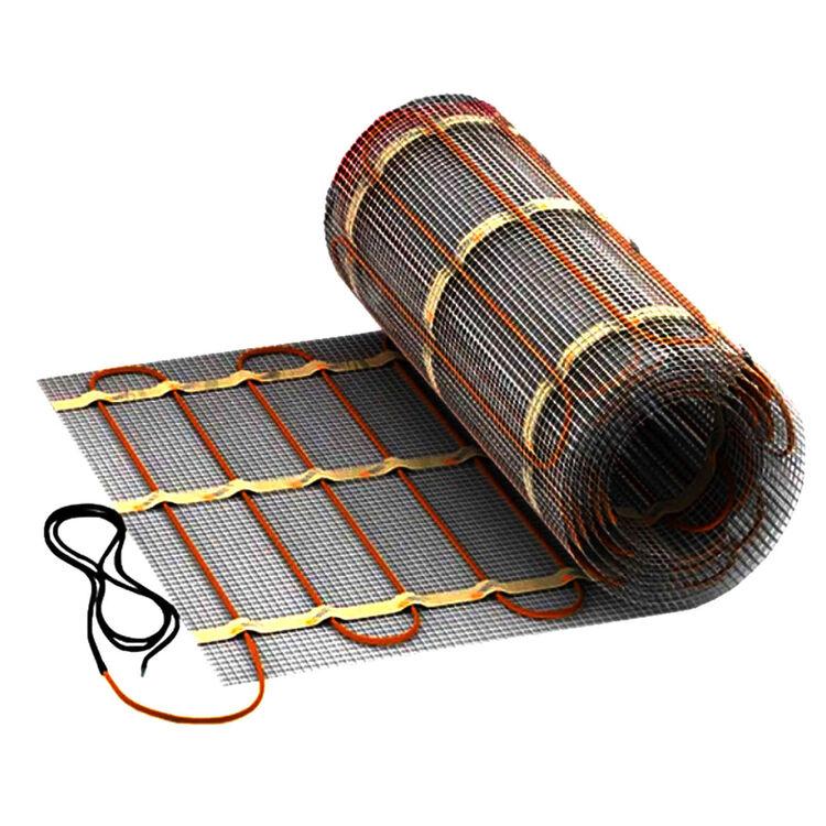 Suelo radiante el ctrico cable de calefacci n d nnbett - Calefaccion suelo radiante electrico ...