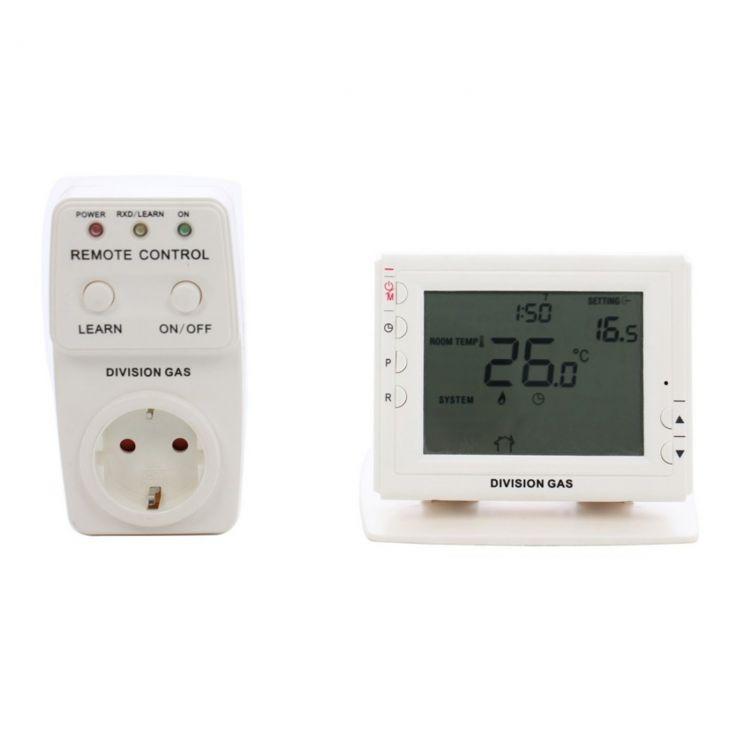 Sas908gt Rc Thermostat Receiver Socket Set 868mhz No Nc