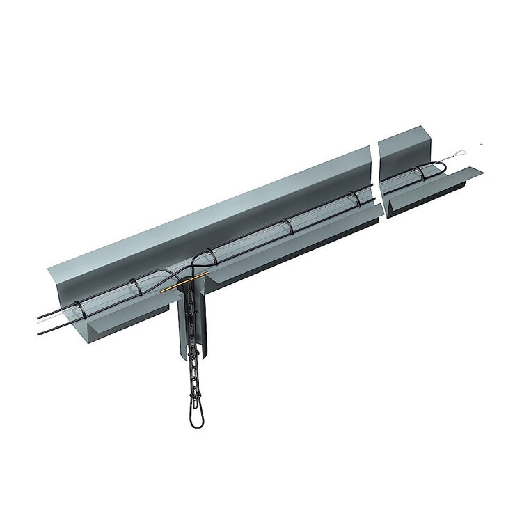 Halterung für Frostschutz Heizkabel Dachrinnenhaken Dachrinnenhalter 10-50St.
