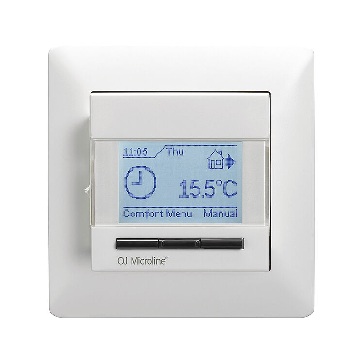 ELKO Full Touch Screen Intelligent Programmable Heating Room Thermostat Control