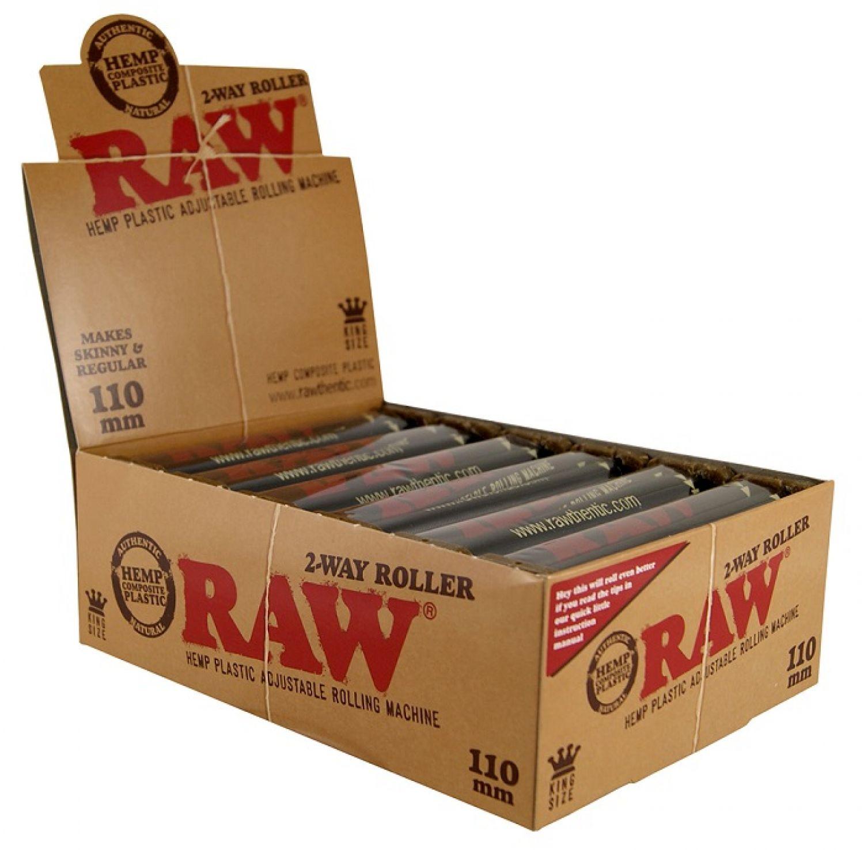 RAW 70mm Hemp Plastic Adjustable Roller Drehmaschine Slim /& Regular 2 Stück