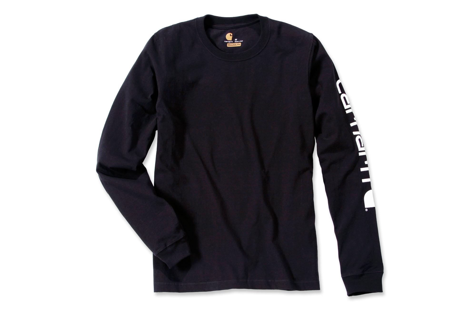 Carhartt-Workwear-Longsleeve-langarm-Shirt-Logo-EK231-Neu