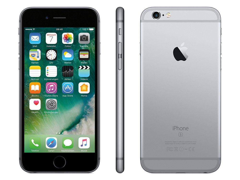 apple iphone 6s 4 7 zoll 32gb spacegrau mn0w2zd a smartphone handy ios 9 ebay. Black Bedroom Furniture Sets. Home Design Ideas