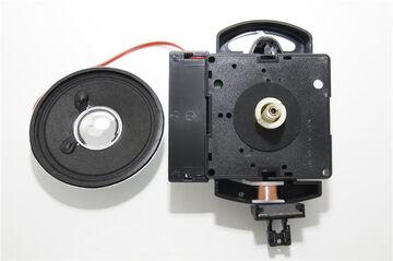 Pendule Bob laiton pour QUARTZ MÉCANISME D/'horloge BALANCIER Disque O70mm NEUF