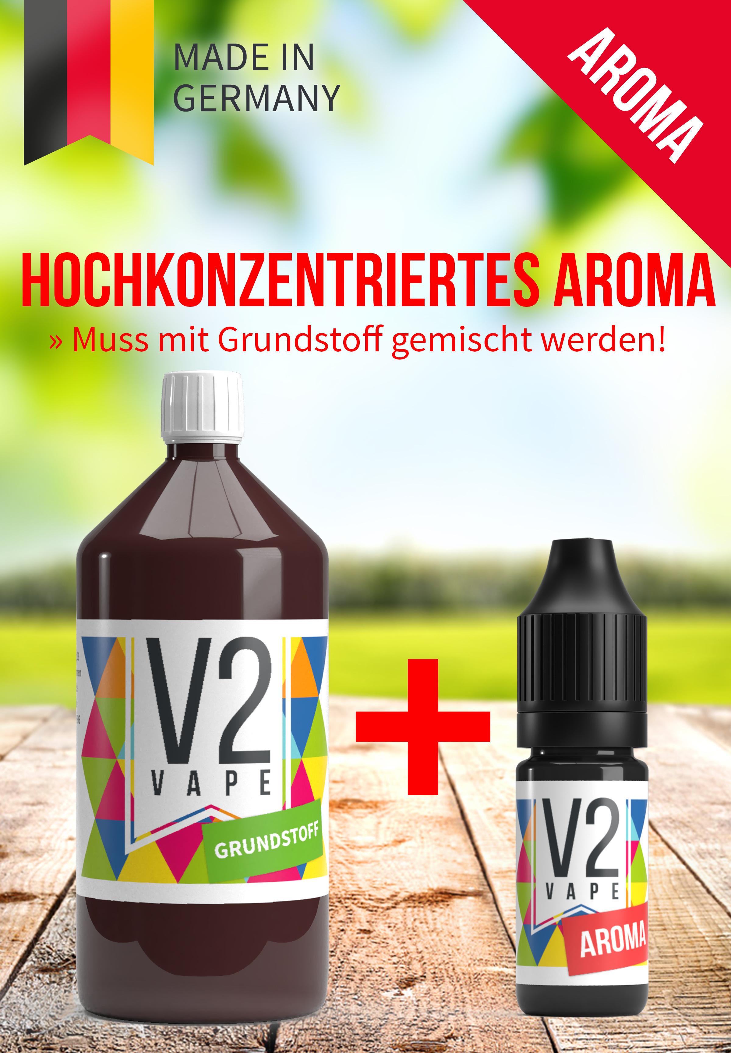 Konzentrat V2 Vape Drehtabak Halfzware Shag AROMA