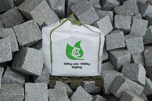 Granit Kleinstein Pflaster 9x9x9cm