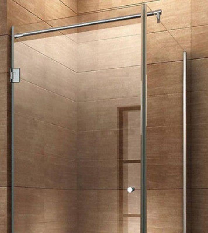 eckduschkabine modulo mit seitenwand und pendelt r duschabtrennung duschwand ebay. Black Bedroom Furniture Sets. Home Design Ideas