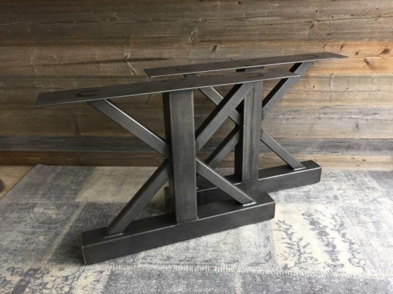 Trapez Tischgestell Tischkufen Industriedesign Tischgestell Rohstahl Tischbeine