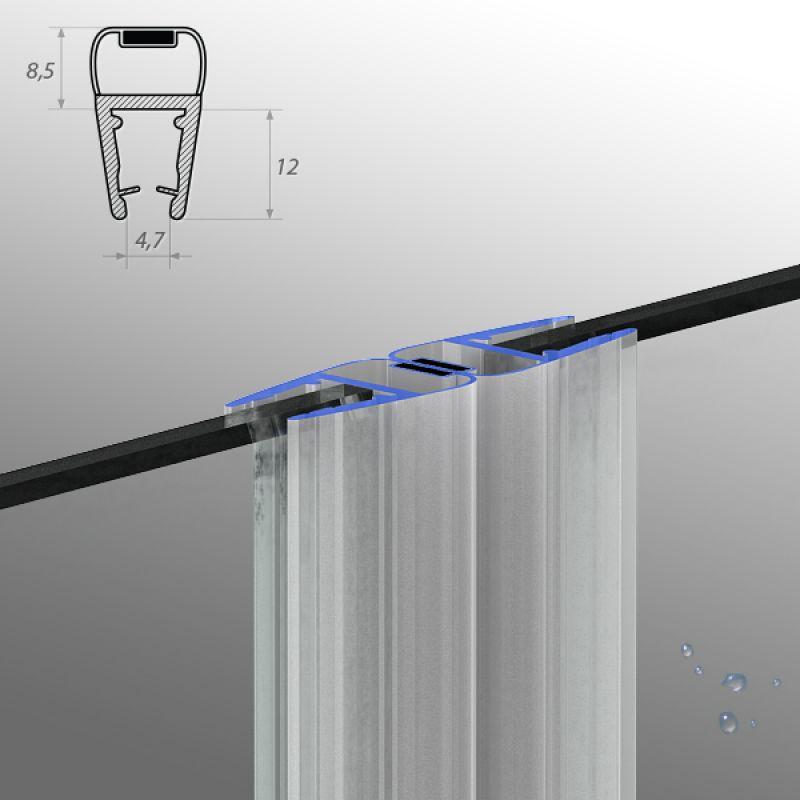 duschdichtung wasserabweiser ersatzdichtung duschprofil. Black Bedroom Furniture Sets. Home Design Ideas