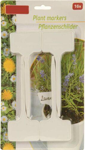 Pflanzschild 9 rimpiazzatepflanzetikett pflanzstecker Erbe Giardino schrebergarten