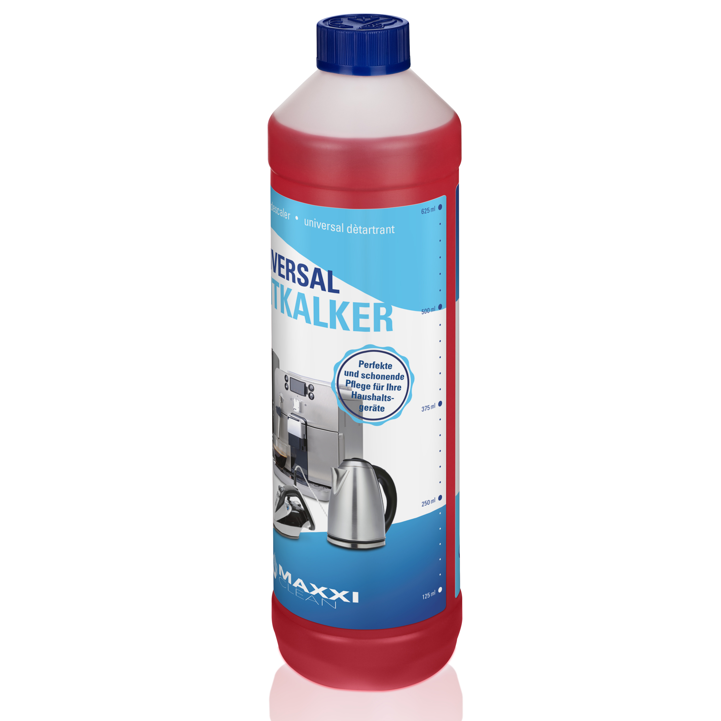 3x 750ml Flüssig Entkalker 18 Reinigungen für alle Marken geeignet Super einfach 4