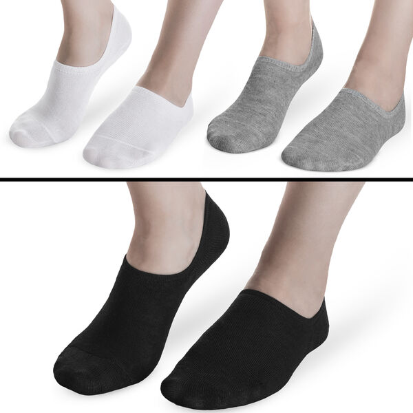 12 Paar Damen Sneaker Socken Füßlinge Ballerina Footies Baumwolle Mehrfachpack