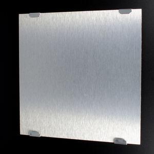 Set Spiegelklammer Spiegelklemme Spiegelhalter Spiegelhalterung bis 12 kg Chrom