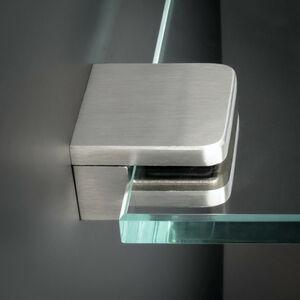 1,5-10,76 mm Glashalter Edelstahl Glas-Klemme-Befestigung Scheibensicherung PS