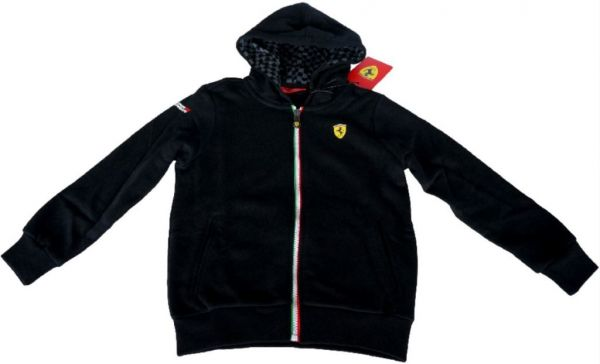 ferrari formel 1 f1 kinder hoody pulli 104 164. Black Bedroom Furniture Sets. Home Design Ideas