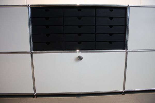 styro system kasten 5er passend f r usm haller inos papier ablage regal box ebay. Black Bedroom Furniture Sets. Home Design Ideas