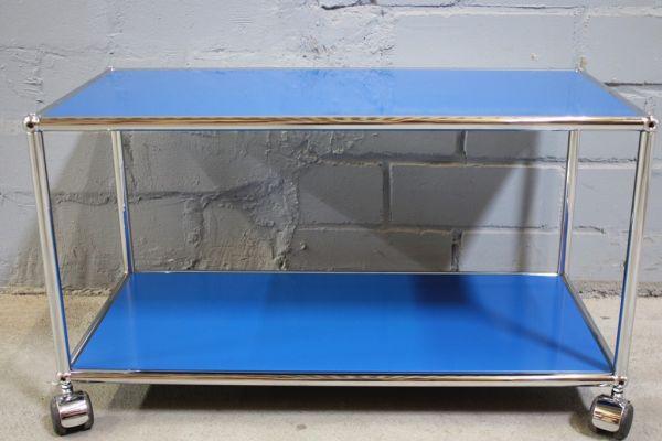 USM Haller Lowboard Regal Tisch Beistell-Tisch 75x35 lichtgrau Ablage