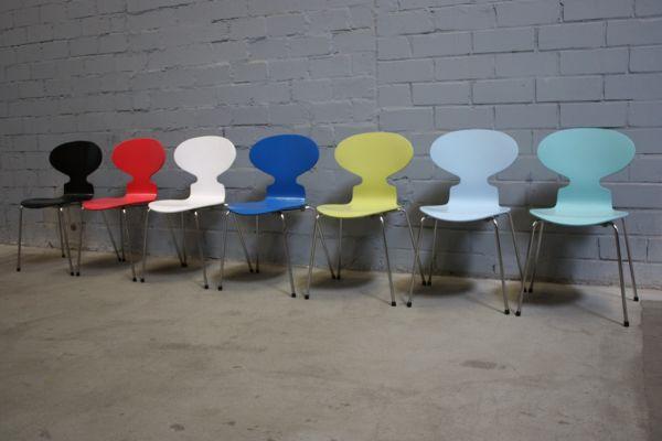 Design fritz hansen by arne jacobsen 3101 stuhl ameise for Design stuhl nachbau