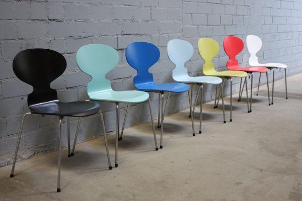Design Fritz Hansen by Arne Jacobsen 3101 Stuhl Ameise