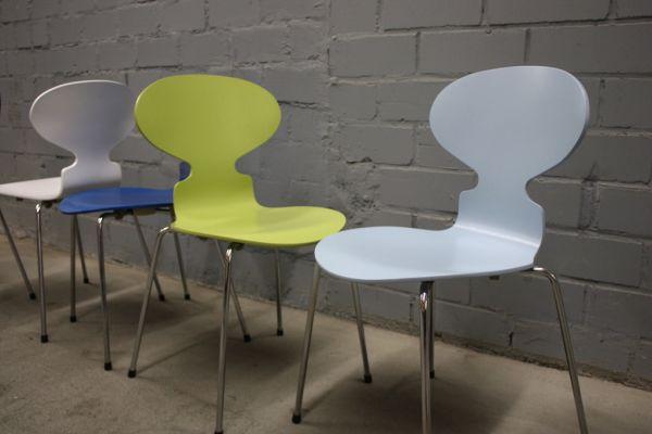 Arne Jacobsen Ameise Stuhl design fritz hansen by arne jacobsen 3101 stuhl ameise chair 4 bein