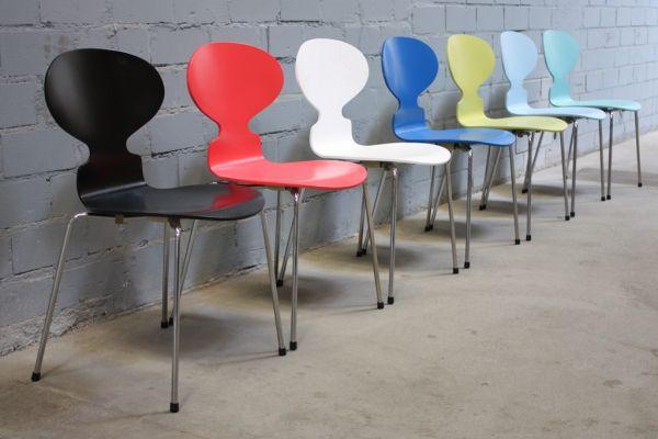 Stuhl Ameise Jacobsen design fritz hansen by arne jacobsen 3101 stuhl ameise chair 4 bein