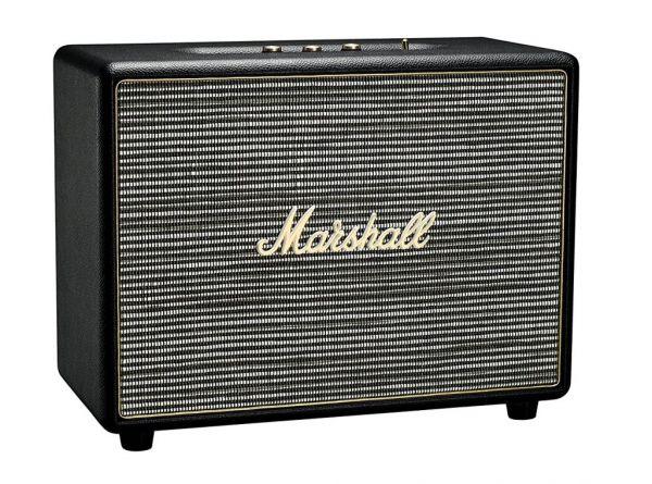 marshall woburn black bluetooth lautsprecher bt speaker. Black Bedroom Furniture Sets. Home Design Ideas