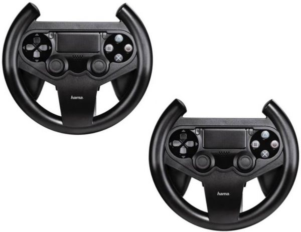 hama pack 2x lenkrad racing wheel controller halterung f r. Black Bedroom Furniture Sets. Home Design Ideas
