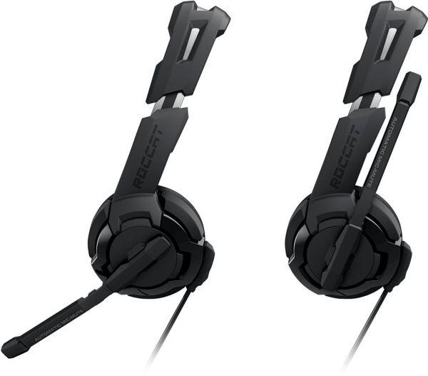 roccat gaming headset stereo mikro gamer kopfh rer 3 5mm. Black Bedroom Furniture Sets. Home Design Ideas