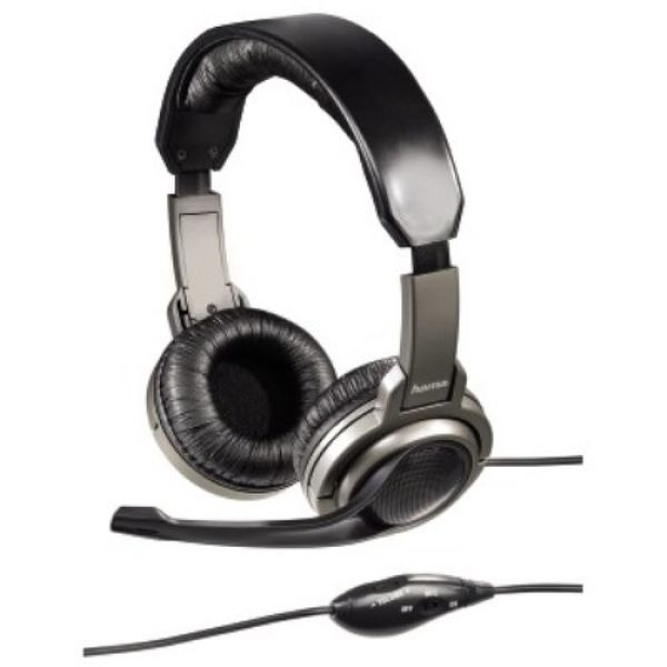 hama gaming headset 3 5mm klinke gamer kopfh rer. Black Bedroom Furniture Sets. Home Design Ideas
