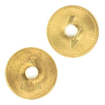 20 Stück AEG Wertmarke Waschmarke für Münzzähler Münzzeitzähler Original