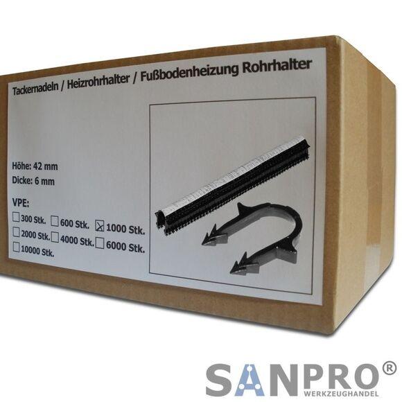 1200 Stk Tackernadeln 40mm für Fußbodenheizung Heizrohr Profi-Tacker HM24