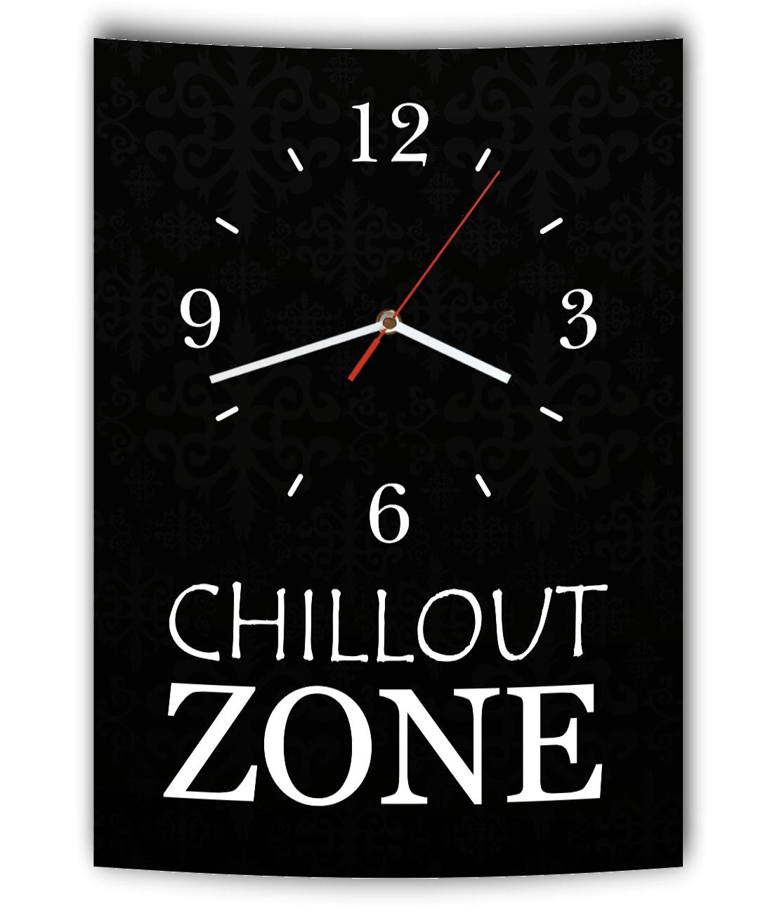 Wanduhren Weitere Uhren Lautlose Designer Wanduhr Mit Spruch Chillout Zone Schwarz Weiß Modern Deko Schi Unterscheidungskraft FüR Seine Traditionellen Eigenschaften