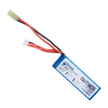 OpTacs Airsoft LIPO Akku 1300mAh 7.4V 25C 2 ways split Micro TAMIYA
