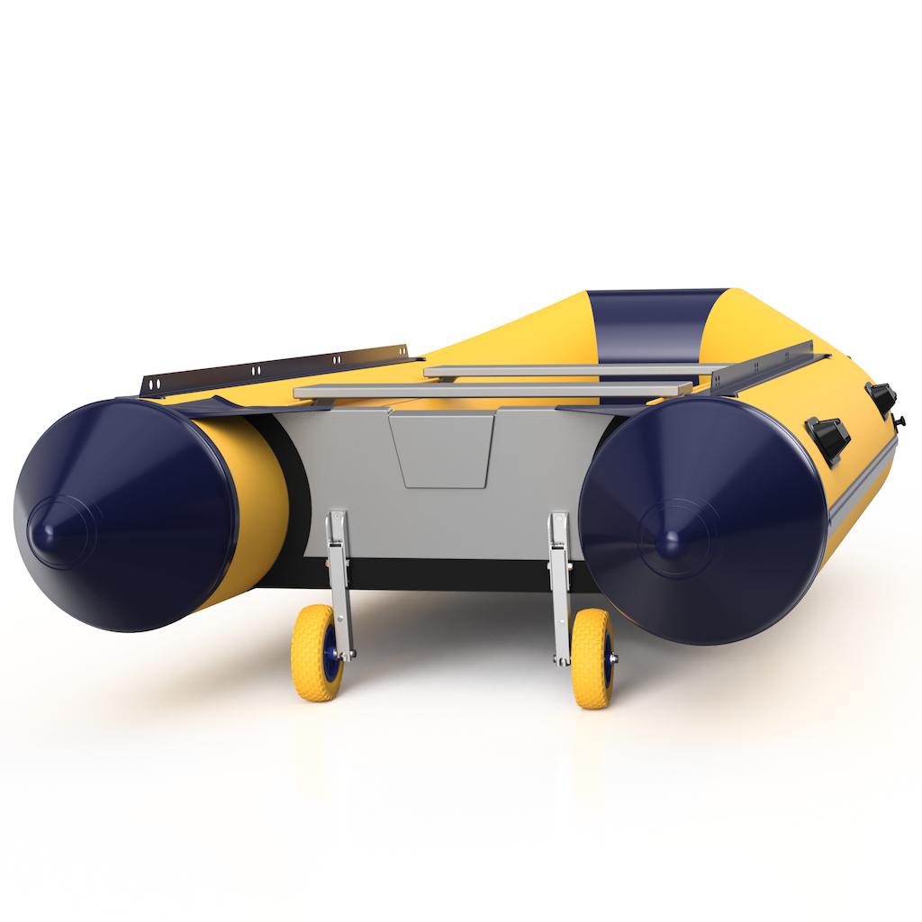 Sliprader-fur-Schlauchboot-Heckrader-Transportrader-Edelstahl-SUPROD-HD200