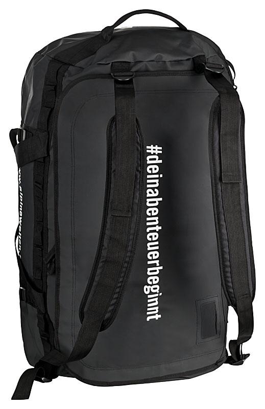 Duffle Bag Base Camp Duffle Tasche 120 Liter Volumen wasserdicht schwarz