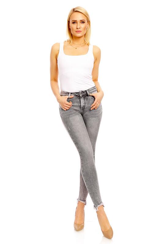 Damen Girl Vivi Jeans Hose Destroyed Pants Stretch Röhrenjeans Skinny 705-85