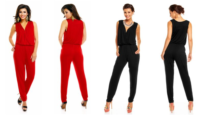 hs 344 mayaadi damen catsuit overall alladin sexy hose pumps jumpsuit einteiler ebay. Black Bedroom Furniture Sets. Home Design Ideas