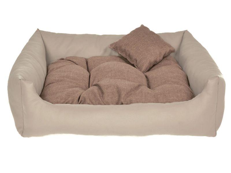 hundebett kunst leder hundekissen hundesofa katzenbett hundekorb m l xl xxl xxxl ebay. Black Bedroom Furniture Sets. Home Design Ideas