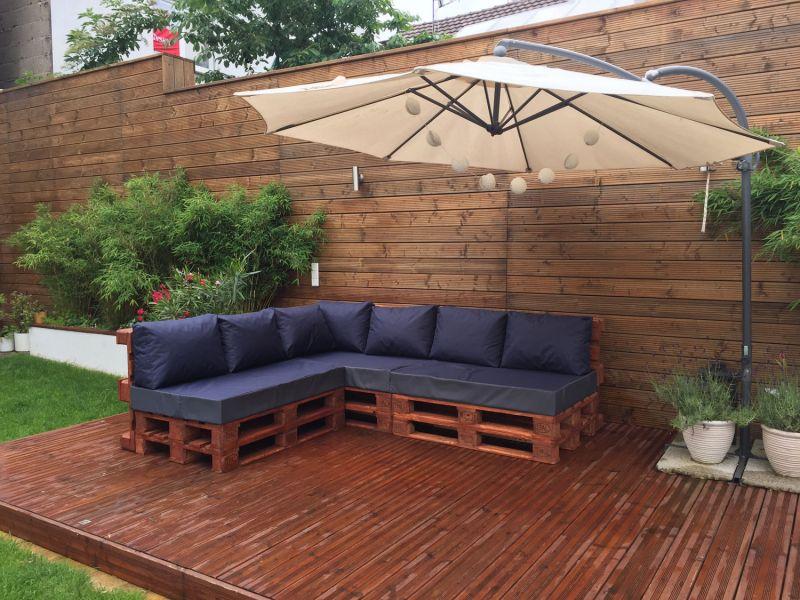 palettenkissen palettenauflage sitzkissen sofa euro paletten polster mh gd01 ebay. Black Bedroom Furniture Sets. Home Design Ideas