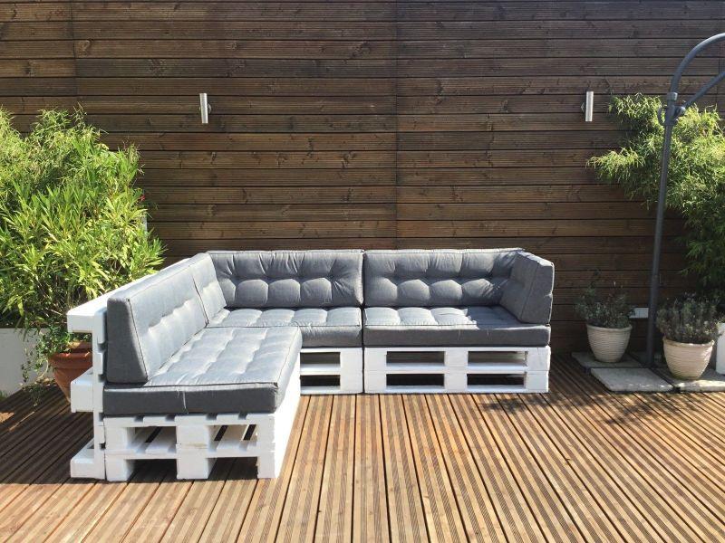Palettenkissen palettenauflage sitzkissen sofa euro for Couch 600 euro