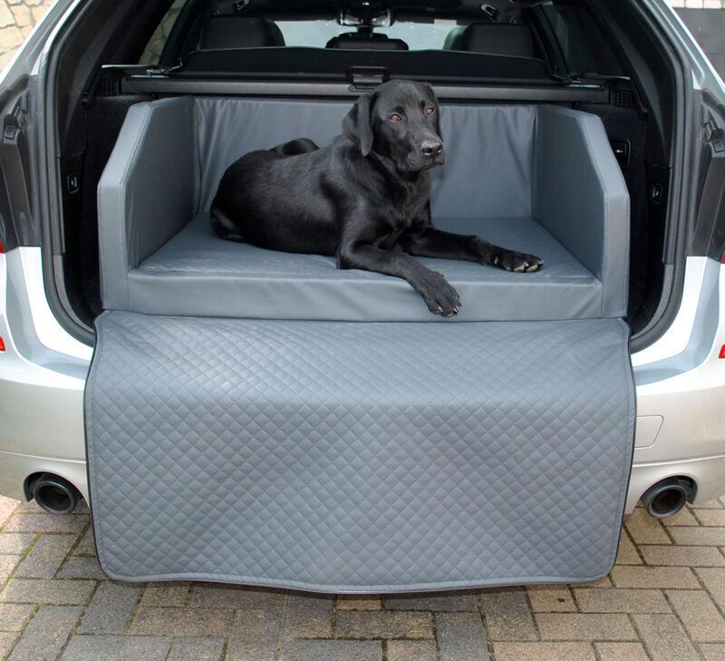 Mayaadi Home Hundebett Kofferraum Bett Travel Duo Autohundebett Schutzdecke Kunst Leder Autositz Matte
