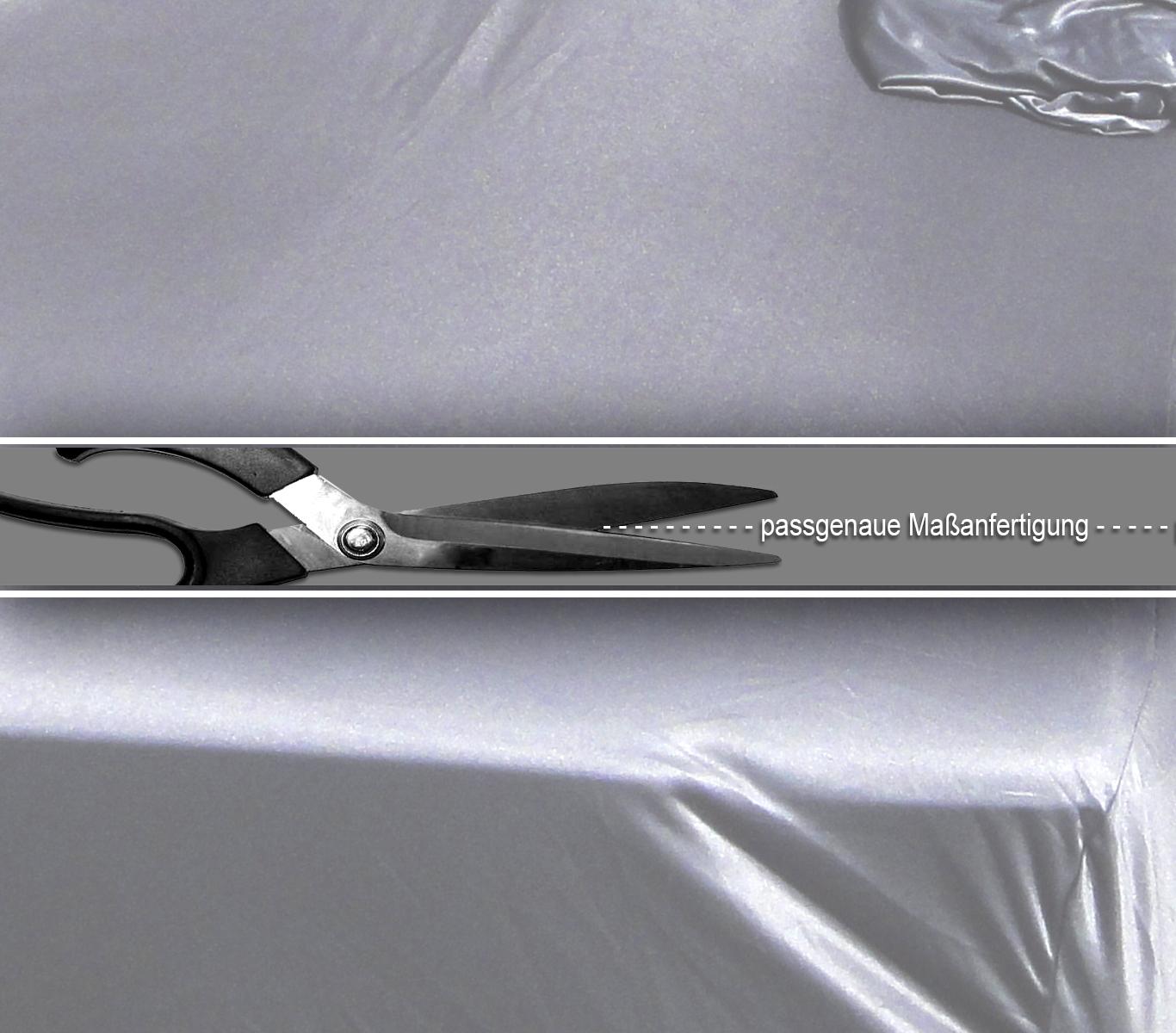 Mercedes SL R231 Facelift Indoor Auto Cover Ganzgarage silber weich Spiegel neu