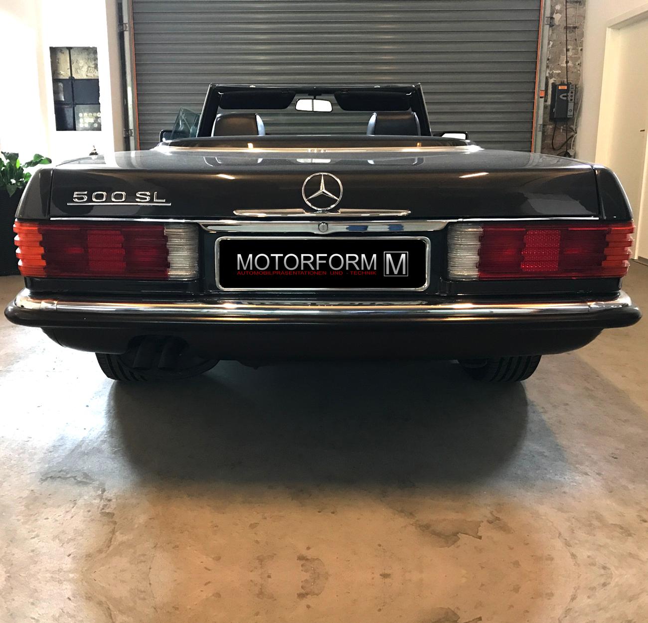 2 Stück Mercedes SL SLC W107 R107 Gummirahmen Türgriff bis 1985 Griffunterlage