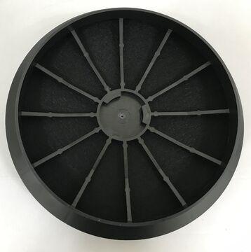 2x Aktivkohlefilter passend für Bosch DHZ5275 DHZ5276 Dunstabzugshauben