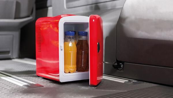 Mini Kühlschrank 12+240V Getränkekühlschrank Warm und Kalt Camping Kühlschrank