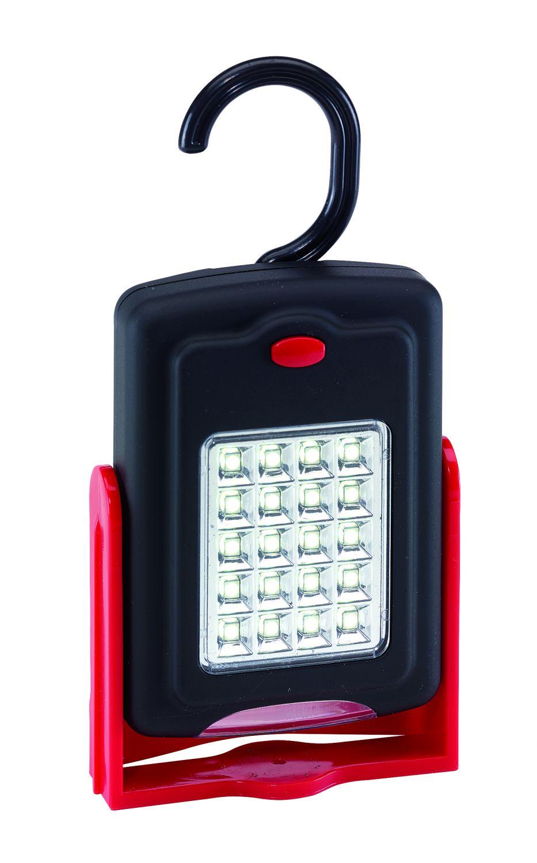 taschenlampe werkstatt 20 led klappbar mit magnet und. Black Bedroom Furniture Sets. Home Design Ideas